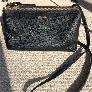 Calvin Klein pebble leather bag